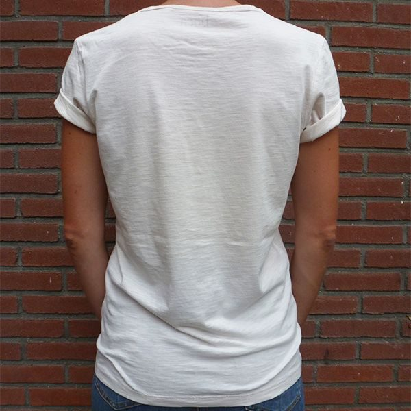 Para siempre organic cotton unisex shirt back