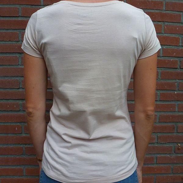 Si Señor panter on nude shirt back
