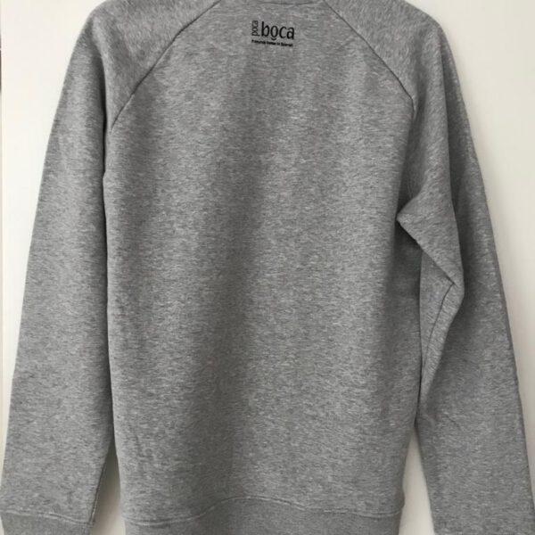 Olé sweater grey backside