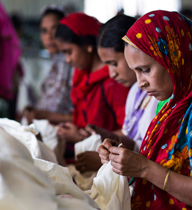 fabriek kleding textiel vrouwen