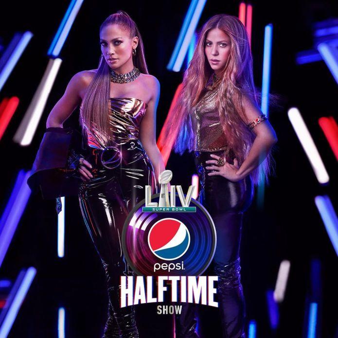 Aankondigingsfoto Jennifer Lopez en Shakira doen de halftime show
