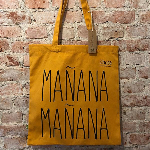 Bolsa sólida de algodón orgánico - Mañana Mañana