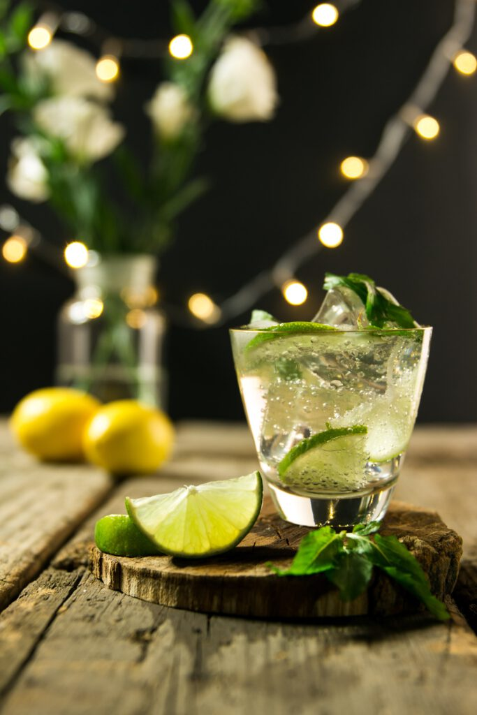 Mojito drink mint lime