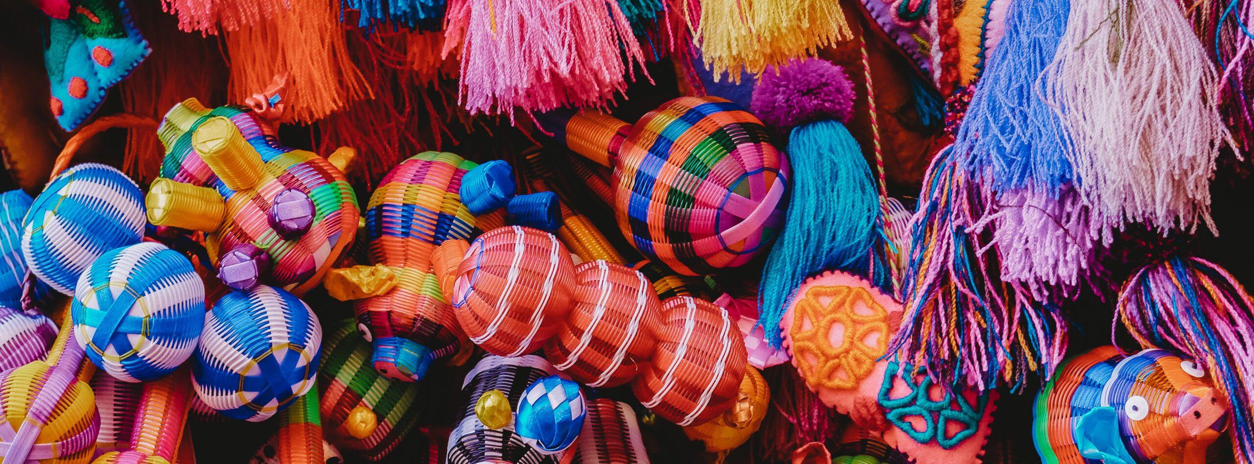 samba juguetes colores