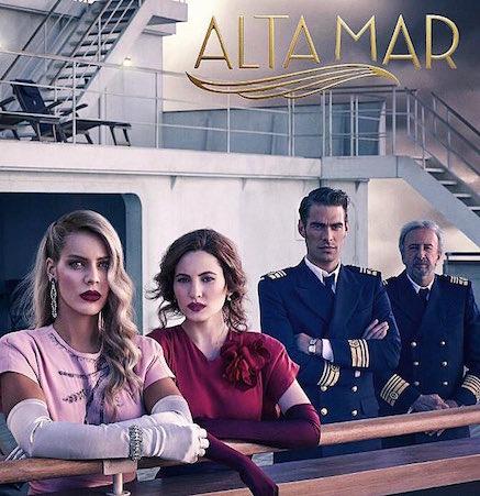 vrouwen mannen op een schip